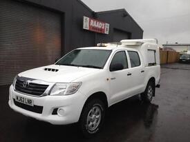 2012 (62) Toyota Hilux 2.5 D4-D HL2 Double Cab 4x4 Diesel Pickup * WORKSHOP *