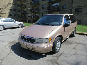 1996 Mercury Villager GS Minivan, Van
