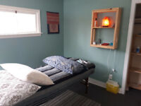 Rooms to rent at my alternative wellness clinic