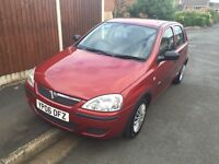 Vauxhall Corsa 1.2 life 06 plate low mileage