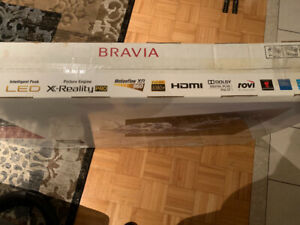 SONY BRAVIA XBR HDTV WITH WIFI IN BOX!