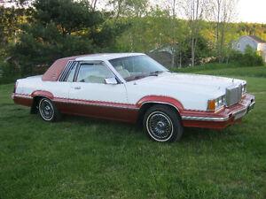 All Original Survivor 1980 Mercury Cougar XR-7 V-8 collector car