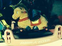 Radio flyer bouncy horse