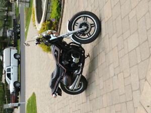 Magnifique moto vintage a vendre