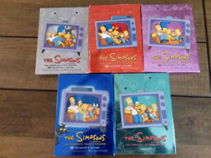 DVD Les Simpsons 5 éditions de collections