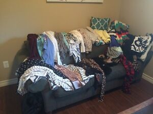 Huge lot of women's brand name clothing!