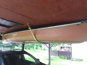 Coleman Canoe (+ Paddles) For Sale!