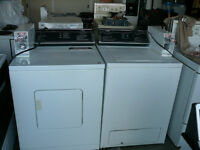 Re-built Coin Operated Whirlpool Washer & Dryer