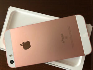 iPhone SE Rose Gold -Excellent Cond 16 GB