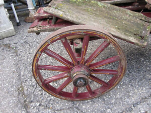 #greenspotantiques grain scale cart, old wagon wheel cart, Cadil Cambridge Kitchener Area image 4