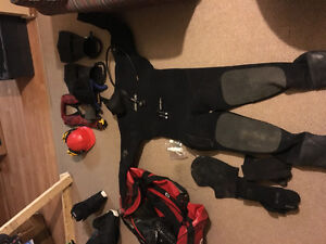 Commercial diving gear
