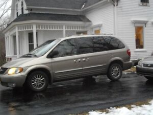 2002 Town & Country All wheel Drive Limited Edition Rare