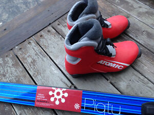 Junior Cross Country Skis and Boots