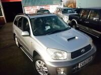 TOYOTA RAV4 D-4D TURBO DIESEL 5 DOOR ESTATE 4X4 (NOW SOLD)