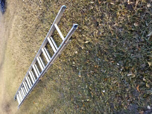 26 foot extension alluminum ladder