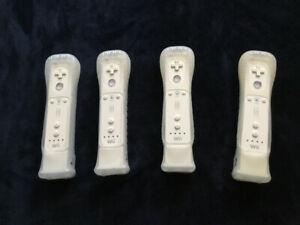 Wii motes with motion plus sensor