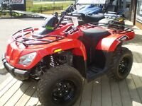 2015 ARCTIC CAT 400 4x4 TRUCKLOAD SALE! SAVE HUGE!!