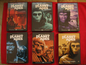 Box Set - 6 DVD Planet of the Apes