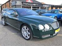 2005 Bentley Continental 6.0 GT Mulliner 2dr Petrol green Automatic