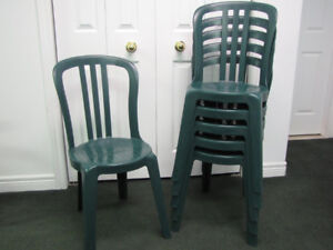 RESIN BISTRO CHAIRS