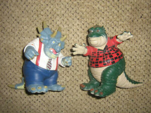 DINOSAURS TV SHOW FIGURE LOT