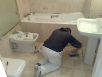 PLUMBER TILER DECORATOR BUILDER REFURBS FLOORING MAINTENANCE CALL JOHNNY 0750 3277 588