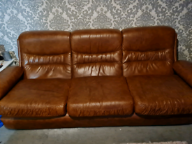 *FREE* 3 seater sofa and armchair