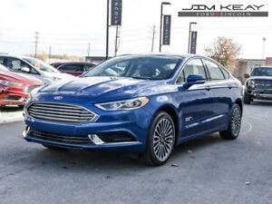 2018 Ford Fusion Energi SE  - EBONY - $112.22 /Wk