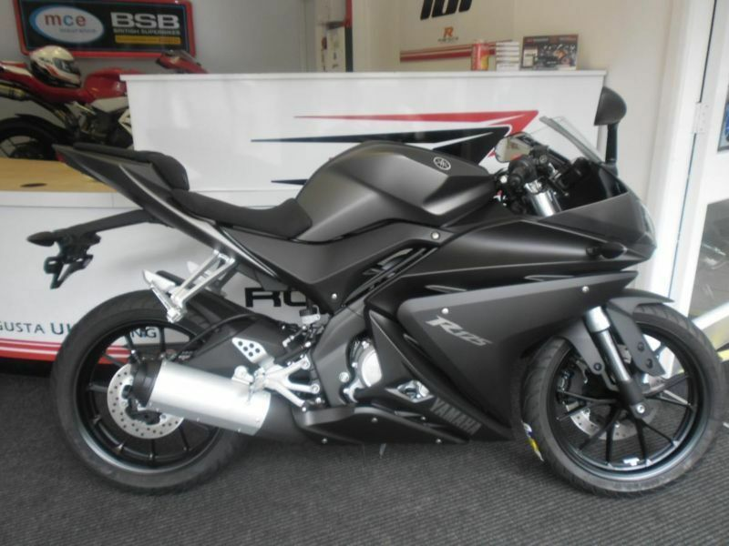 2014 new model yamaha yzf r125 low rate finance available. Black Bedroom Furniture Sets. Home Design Ideas