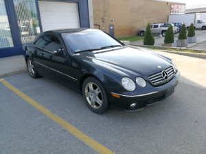 Mercedes CL 500 - 2003 priced to sell!