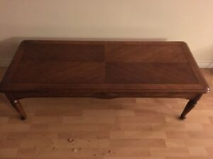 Solid Wood Living Room Set Of Tables