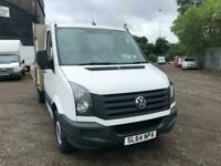 Volkswagen Crafter 2.0TDi ( 109PS ) CR35 LWB Dropside With Security Box