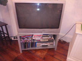 FREE old style silver television