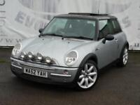 2002 MINI HATCH 1.6 COOPER ELECTRIC PANORAMIC ROOF BLACK LEATHER SEATS 17 INCH A