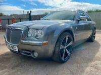 "Chryler 300c crd ltd 22"" alloys FSH Stunning car grey may part ex 1 yrs mot"