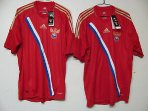 RUSSIA SOCCER JERSEY / ADIDAS NEW WITH TAGS ADULT L