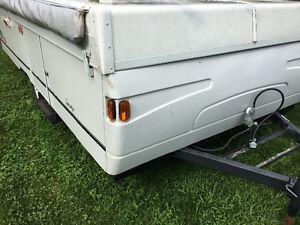 Coleman 2 king bed trailer