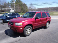 2006 Ford Escape Limited SUV, Crossover Saint John New Brunswick Preview