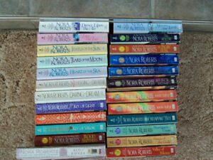 Lot of 24 Nora Roberts books - 1 of 2