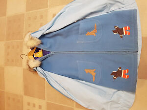 Women's 100% wool parka from inuvik
