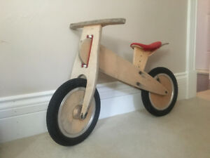 Antique - Velo sans pédale -Like a Bike- Wooden balance bike