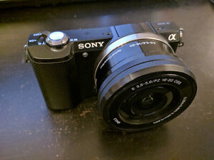 Sony A5000 Mirrorless Camera with 16-50mm Lens 20MP
