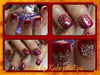 Sculpted gel nails by Kate