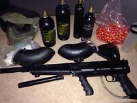 Tippmann 98 Custom Paint Ball Gun