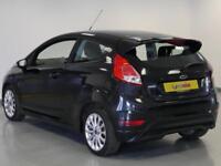 2014 Ford Fiesta 1.0 EcoBoost 125 Zetec S 3dr Petrol black Manual