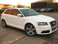 Audi A3 2.0 TDI 170bhp QUATTRO S LINE 4x4,HPI CLEAR,CAMBELT CHANGE,CRUISE,TINTED
