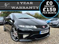"2009 HONDA CIVIC TYPE R GT 2.0i-VTEC ☆ TOP SPEC INC 19"" FACTORY ALLOYS ☆ FSH"