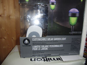 remote control solar lights brand new