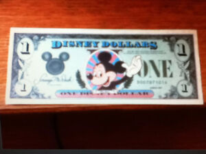 Disney World Orlando Florida 1st D series issue 1987 OBO