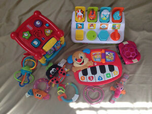 Baby Toys plus Bright Starts playmat!